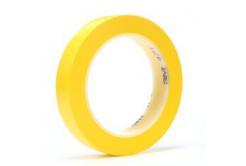3M 471 PVC ragasztószalag, 9 mm x 33 m, sárga