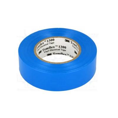 3M Temflex 1300 Elektromos szigetelőszalag, 15 mm x 10 m, kék