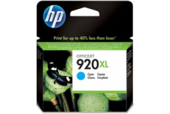 HP č.920XL CD972AE cián (cyan) eredeti tintapatron, prošlá expirace