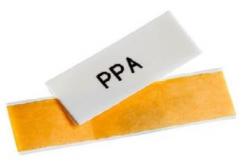 Partex PPA+09000SN4, 10m, sárga, öntapadó szalag PPA+