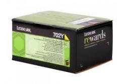 Lexmark 70C20Y0 sárga (yellow) eredeti toner