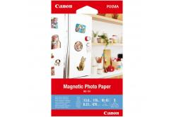 """Canon 3634C002 Magnetic Photo Paper, fotópapírok, fényes, fehér, Canon PIXMA, 10x15cm, 4x6"""", 670 g/m2, 5 db"""