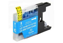 Brother LC-1240 / LC-1280 cián (cyan) kompatibilis tintapatron