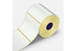 Öntapadós címkék 25x50 mm, 1000 db, papír, TTR, tekercs