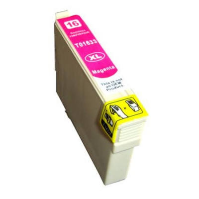 Epson T1633 XL bíborvörös (magenta) kompatibilis tintapatron