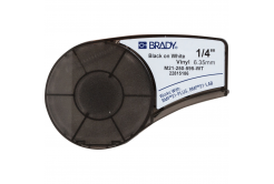 Brady M21-250-595-WT / 139744, vinyl szalag, 6.35 mm x 6.40 m