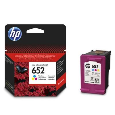 HP 652 F6V24AE színes (color) eredeti tintapatron