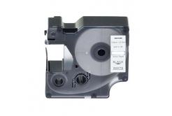 Dymo 18445, 19mm x 5, 5m fekete nyomtatás / fehér alapon, vinyl, kompatibilis szalag