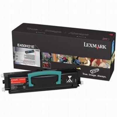Lexmark E450H21E fekete (black) eredeti toner