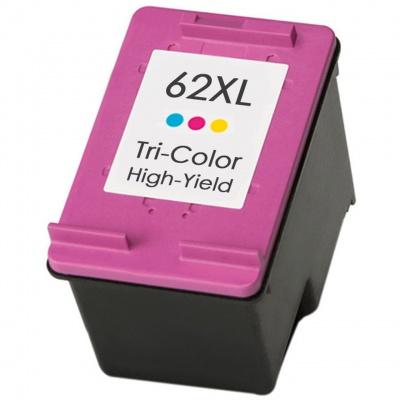 HP 62XL C2P07AE színes utángyártott tintapatron