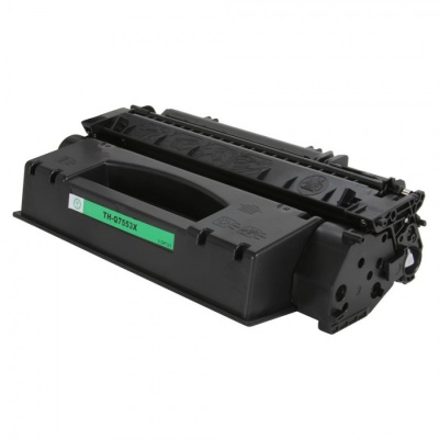 HP 53X Q7553X fekete (black) kompatibilis toner