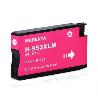 HP 953XL F6U17AE bíborvörös (magenta) kompatibilis tintapatron