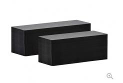 Evolis C8152 50x150mm PVC kártya, fekete matt, 100db