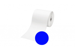 Brother RD-S01E2C, 102mm x 42,8m, kék, kompatibilis címketekercs