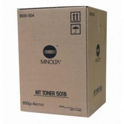 Konica Minolta MT501B fekete (black) eredeti toner