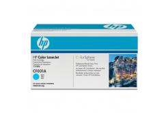 HP 646A CF031A cián (cyan) eredeti toner