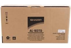Sharp AL-103TD fekete (black) eredeti toner