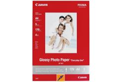 Canon MP-101 Matte Photo Paper, fotópapírok, matt, fehér, A4, 170 g/m2, 5 db, 7981A042