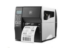 Zebra ZT230 ZT23043-T3E100FZ címkenyomtató, 12 dots/mm (300 dpi), peeler, display, ZPLII, USB, RS232, LPT