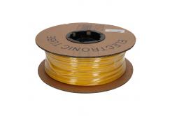 Kábeljelölő ovális PVC cső, PO profil, BF-70, 7 mm, 100 m, sárga
