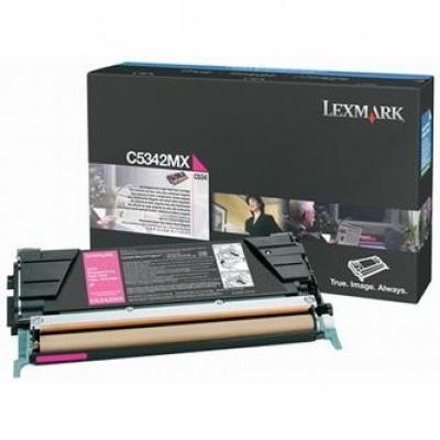 Lexmark C5342MX bíborvörös (magenta) eredeti toner