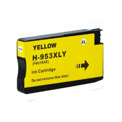 HP 953XL F6U18AE sárga (yellow) kompatibilis tintapatron