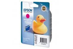 Epson T0553 bíborvörös (magenta) eredeti tintapatron