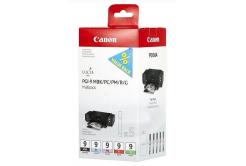 Canon PGI-9 1033B011,1033B013 matt fekete/fotó cián/fotó bíborvörös/piros/szürke (matte black/photo cyan/photo magenta/red/grey) eredeti tintapatron