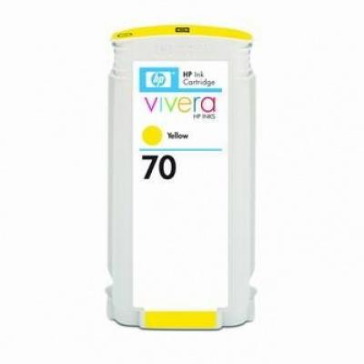 HP 70 C9454A sárga (yellow) eredeti tintapatron