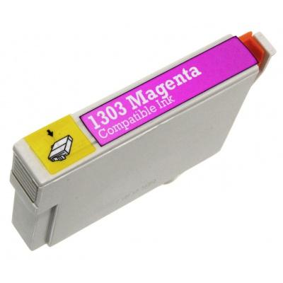 Epson T1303 bíborvörös (magenta) kompatibilis tintapatron