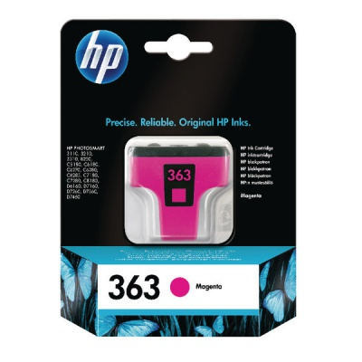 HP 363 C8772EE bíborvörös (magenta) eredeti tintapatron