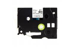 Brother HSe-221 8,8mm x 1,5m, fekete nyomtatás / fehér alapon, kompatibilis szalag