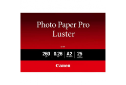 """Canon LU-101 Photo Paper Luster, fotópapírok, fényes, fehér, A2, 16.54x23.39"""", 25 db, 6211B026"""