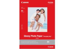 """Canon GP-501 Glossy Photo Paper, fotópapírok, fényes, fehér, 10x15cm, 4x6"""", 210 g/m2, 5 db, 0775B076"""