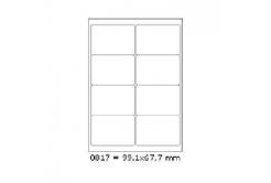 Öntapadós címkék 99,1 x 67,7 mm, 8 db / A4, 100 lap