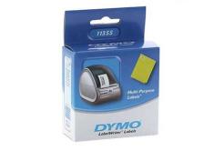 Dymo 11355, S0722550, 51mm x 19mm, fehér, eredeti címketekercs