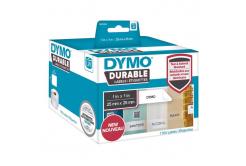 Dymo 1933083, 25mm x 25mm, fehér, polypropylen, eredeti szalag