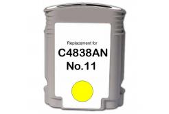 HP 11 C4838A sárga (yellow) kompatibilis tintapatron